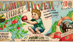 Clarion River Organics Illustration